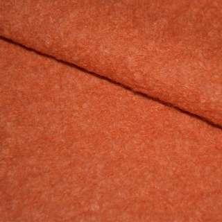 Лоден-букле морковный (оттенок светлее) ш.152