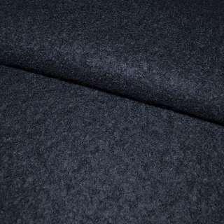 Лоден букле крупное пальтовый синий темный, ш.156