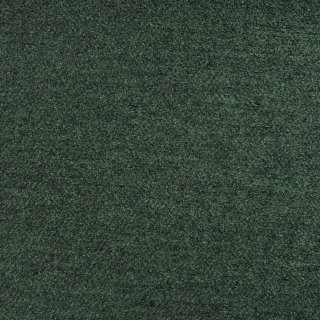 Лоден букле пальтовый меланж зелено-черный, ш.155