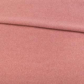 Кашемир пальтовый розовый с бежевым оттенком, ш.150