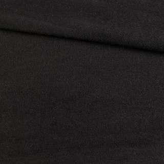 Кашемир пальтовый черный, ш.145