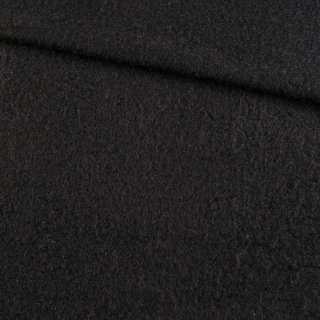 Кашемир пальтовый черный, ш.148