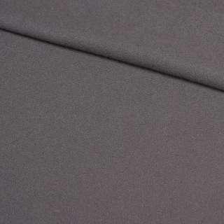Креп плотный костюмный серый, ш.150