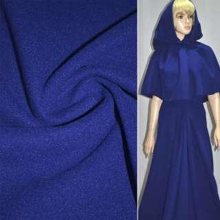 Ткань пальтовая фиолетовая на трикотажной основе ш.158