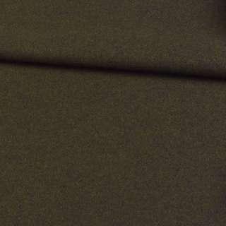Трикотаж пальтовый оливковый темный, ш.150