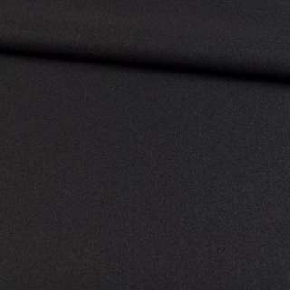 Трикотаж пальтовый черный, ш.155