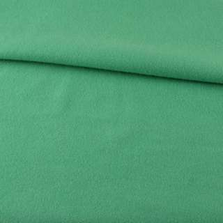 Лоден пальтовый зеленый светлый, ш.155