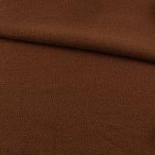 Лоден пальтовый коричневый, ш.155