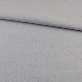 Лоден пальтовый серый светлый, ш.155
