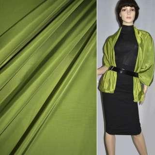 Ткань плащевая зеленая светлая ш.150