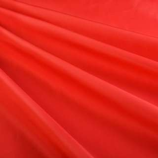 Бондинг (плащевка на трикотажной основе) красный ш.148
