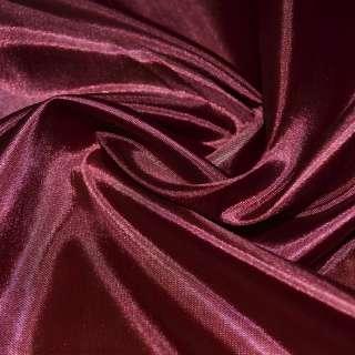 Шелк ацетатный бордовый, ш.150
