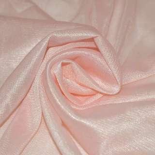 Ткань подкладочная трикотажная персиковая, ш.150