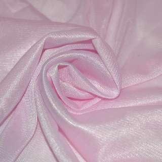 Ткань подкладочная трикотажная бледно-розовая ш.150