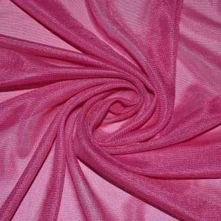 Ткань подкладочная трикотажная фуксия ш.150
