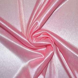 Ткань подкладочная трикотажная чайная роза ш.160