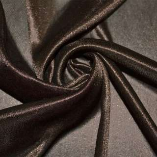 Ткань подкладочная трикотажная коричневая ш.160