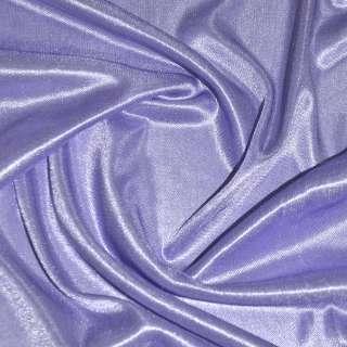 Ткань подкладочная трикотажная фиолетово-молочная ш.150