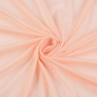 Сетка подкладочная персиковая, ш.165