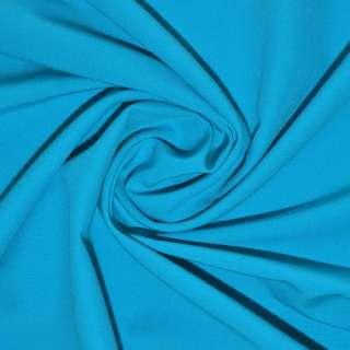Поплин стрейчевый ярко-голубой ш.150
