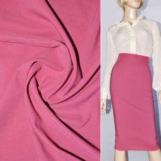 Поплин стрейчевый розово-сиреневый ш.150