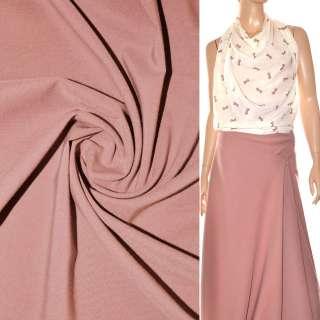 Поплин стрейчевый розово-серый ш.150
