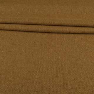 Рогожка шерстяная горчично-бежевая ш.145