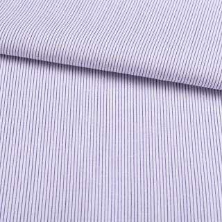 Поплин в бело-фиолетовую полосу 1,5*1мм ш.145