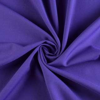 Поликоттон стрейч фиолетовый, ш.150