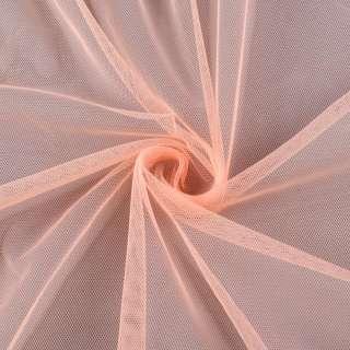 Сетка мягкая тонкая персиковая ш.150
