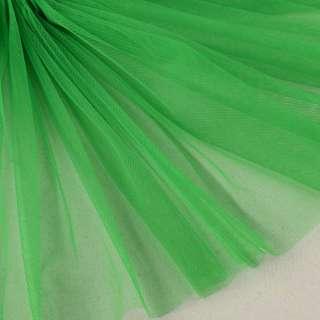 Сетка мягкая тонкая зеленая, ш.160