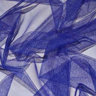 Сетка мягкая тонкая синяя ш.165