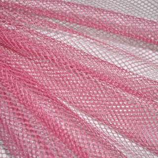 Сетка жесткая соты розовая ш.150