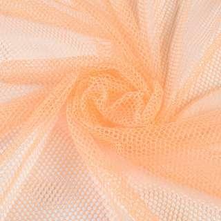 Сетка спортивная оранжевая светлая, ш.155