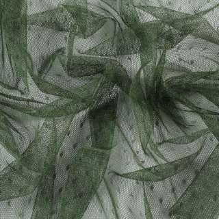 Сетка мушка мелкая оливковая, ш.155