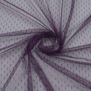 Сетка мушка мелкая фиолетовая темная, ш.150