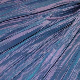 Тафта* жатая фиолетово-розовая ш.130