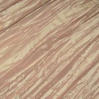 Тафта жатая золотисто-розовая ш.130