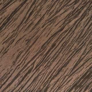 Тафта жатая коричнево золотистая ш.130