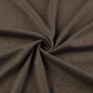 Трикотаж французский коричневый светлый ш.150
