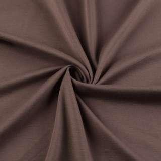 Трикотаж французский коричнево-красный ш.150