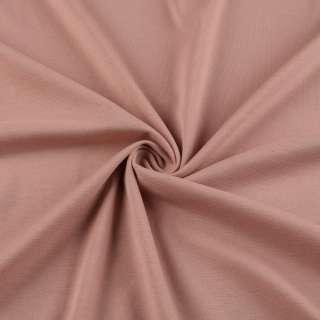 Французский трикотаж оранжево-розовый ш.150