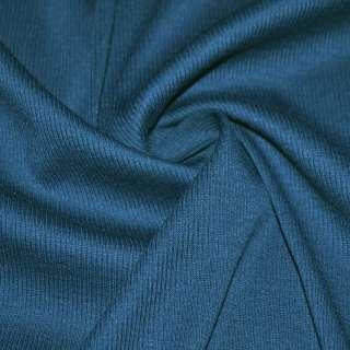 Трикотажная резинка сине-зеленая ш.134