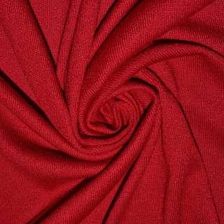 Трикотаж акриловый красный ш.180