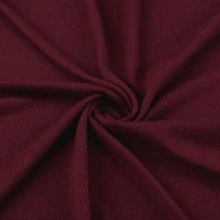 Трикотаж акриловый вишневый ш.180