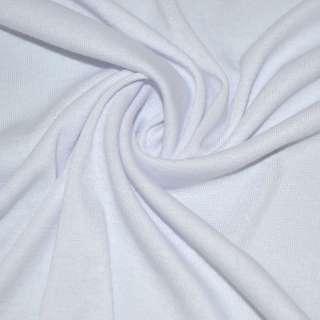Трикотаж акриловый белый ш.170