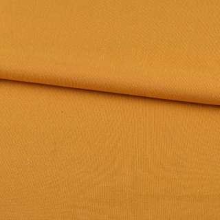 Трикотаж на флисе желто-оранжевый ш.190