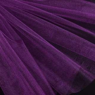 Еврофатин мягкий блестящий фиолетовый, ш.140