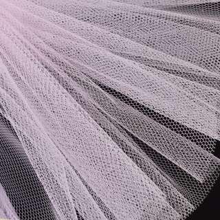 Фатин жесткий молочно-розовый ш.180