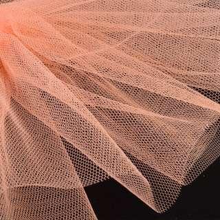 Фатин жесткий оранжевый светлый ш.180